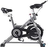 ANCHEER Indoor Cycle Ergometer Heimtrainer, 22kg Schwungrad Hometrainer mit Pulsmesser, LCD Anzeige,...