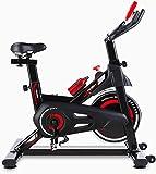 femor HeimtrainerFahrrad, Indoor Cycle 150 kg Belastbar, Fitnessbike mit stufenlose...