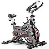 CANMALCHI Heimtrainer Fahrrad Indoor Heimtrainer Spinning Bike einstellbares Workout-Bike,...