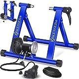 KESSER® Fahrrad Rollentrainer inkl. Schaltung mit 6 Gänge für 26-28' Reifen, bis zu 150 Kg...